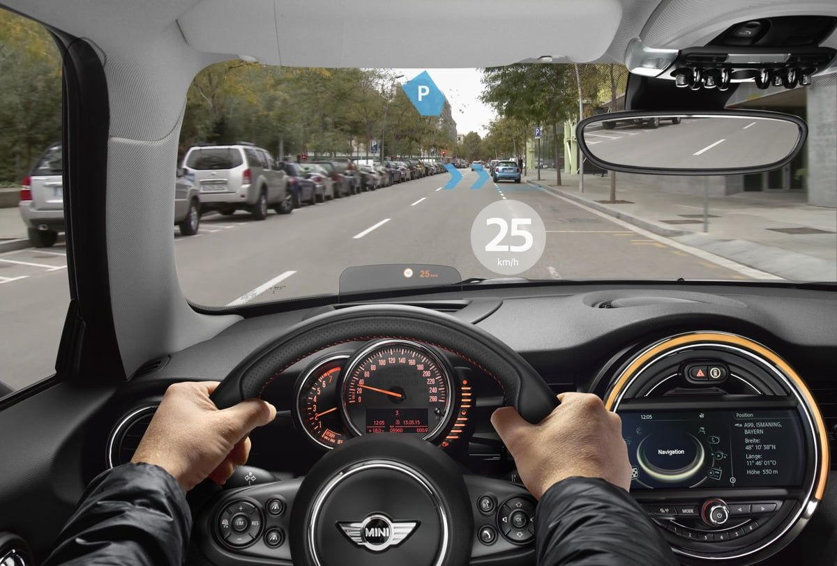 MINI Augmented Vision: Augmented Reality-Brille