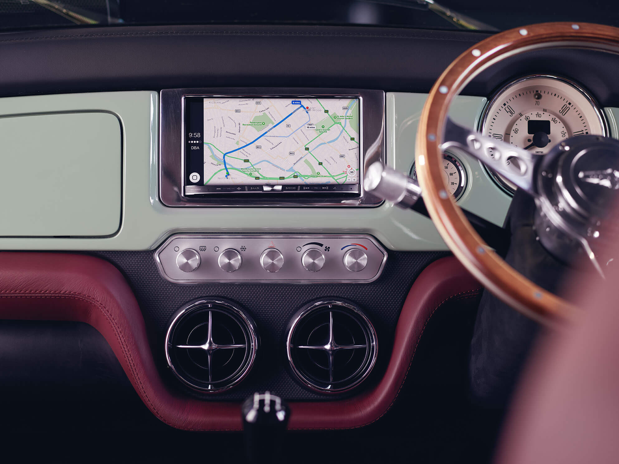 Mini Remastered In-Car Infotainment